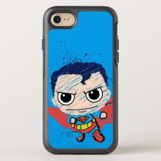 Chibi Superman Sketch OtterBox Symmetry iPhone 7 Case