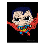 Chibi Superman Sketch Postcard