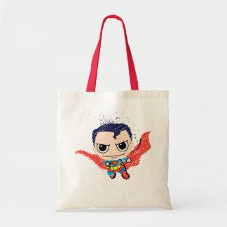 Chibi Superman Sketch Tote Bag