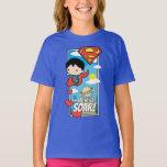 Chibi Superman - You Make My Heart Soar Valentine T-Shirt