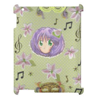 Chibi Sweet Yuriko Music-iPad  Case Cover For The iPad 2 3 4