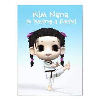 Chibi Taekwondo Card