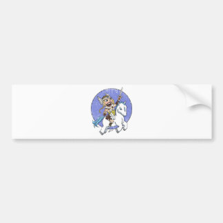 chibi valkyrie distressed bumper stickers