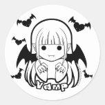 Chibi Vamp Sticker
