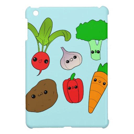 Chibi Vegetables iPad Mini Case