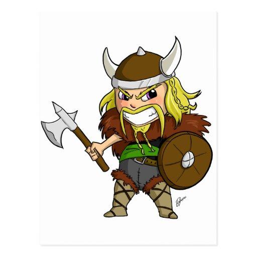 Chibi Viking Postal