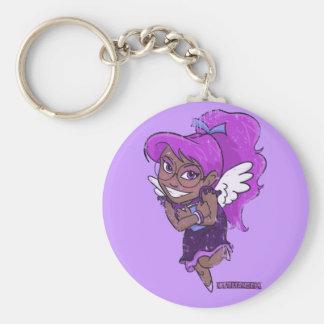 Chibi Virgo (distressed) Keychain
