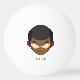 Chibi Wire Ping Pong Ball