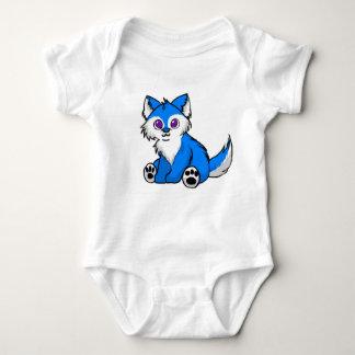 Chibi Wolf Onsie Baby Bodysuit
