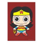 Chibi Wonder Woman 5x7 Paper Invitation Card