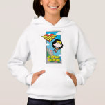 Chibi Wonder Woman - Be My True Valentine Hoodie