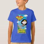 Chibi Wonder Woman - Be My True Valentine T-Shirt