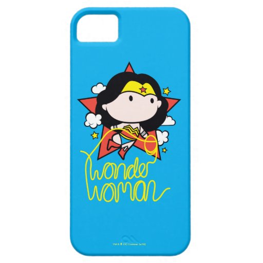 Chibi Wonder Woman Flying With Lasso iPhone SE/5/5s Case