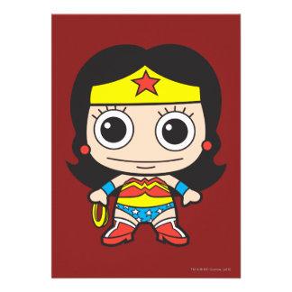 Chibi Wonder Woman Invitation