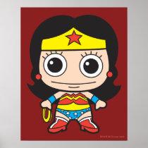 batman, cat woman, superman, wonder woman, batgirl, flash, dc comics, justice league, chibi super heroes, japanese toy cartoon, Poster with custom graphic design