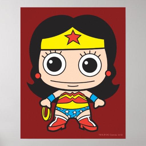 Chibi Wonder Woman Print
