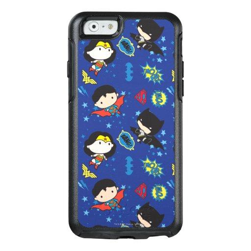 Chibi Wonder Woman, Superman, and Batman Pattern OtterBox iPhone 6/6s Case