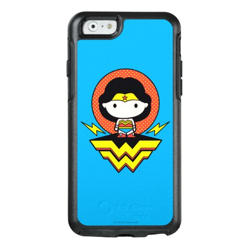 Chibi Wonder Woman With Polka Dots and Logo OtterBox iPhone 6/6s Case