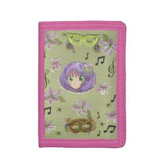 Chibi Yuriko Sweet Pure Collage Wallet