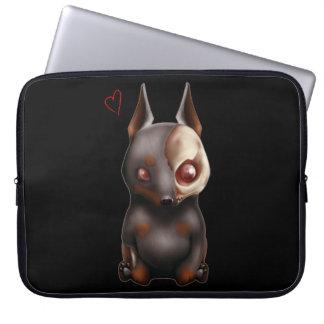 Chibi Zombie Dog Laptop sleeve