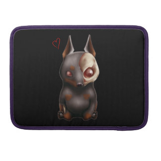 Chibi Zombie Dog Macbook sleeve Sleeves For MacBooks