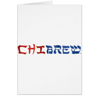 ChiBrew Card