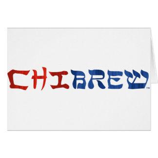 ChiBrew Tarjeta De Felicitación