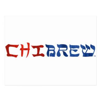 ChiBrew Tarjeta Postal