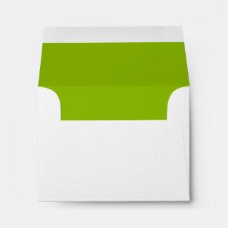 CHIC 64 GREEN/WHITE ENVELOPE