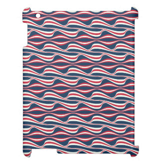 Chic abstract american Labor Day Pattern Cover For The iPad