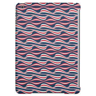 Chic abstract american Labor Day Pattern iPad Air Covers