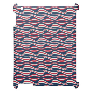 Chic abstract american Labor Day Pattern iPad Covers