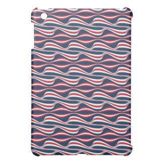Chic abstract american Labor Day Pattern iPad Mini Cover
