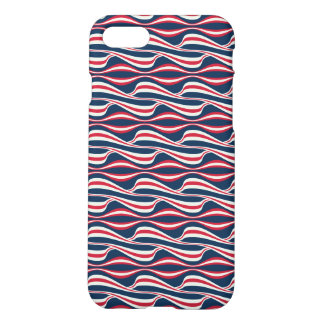 Chic abstract american Labor Day Pattern iPhone 8/7 Case