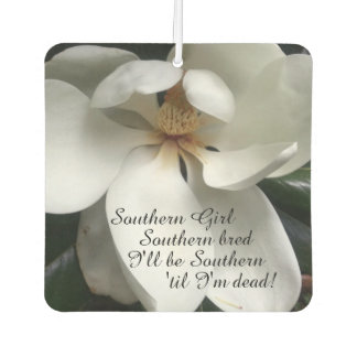 "CHIC AIR FRESHENER_""Southern Girl"" WHITE MAGNOLIA Air Freshener"