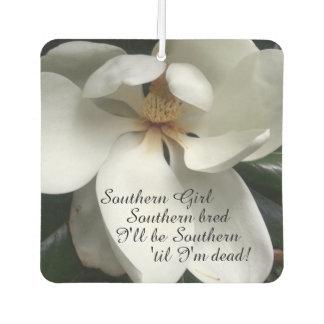 "CHIC AIR FRESHENER_""Southern Girl"" WHITE MAGNOLIA Air Freshener"
