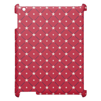Chic american Labor Day Pattern with Stars Case For The iPad 2 3 4
