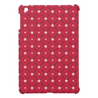 Chic american Labor Day Pattern with Stars iPad Mini Covers