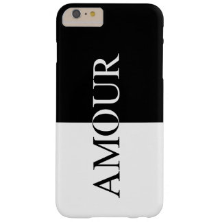Chic AMOUR Black And White iPhone Case