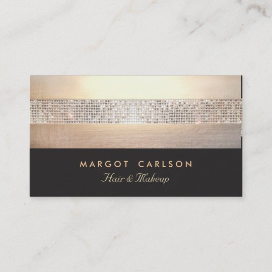 Chic and elegant sequin gold black striped business card zazzle chic and elegant sequin gold black striped business card colourmoves