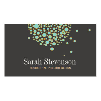 Chic and Unique Creative Designer Business Card