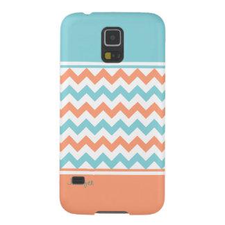 Chic Aquamarine & Coral Samsung Galaxy Nexus Case