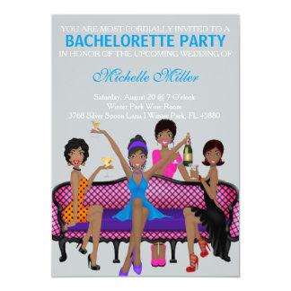 Chic Bachelorette Bash Custom Invtiation Custom Announcements