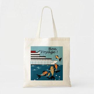 CHIC BAG_ BON VOYAGE! WITH FISH CANVAS BAG