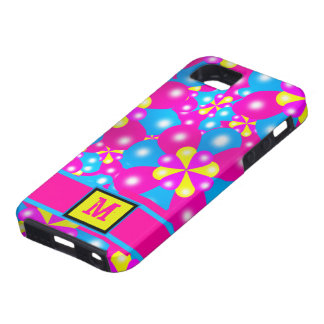 Chic Balloon Blossoms Iphone 5 Case-Mate Case