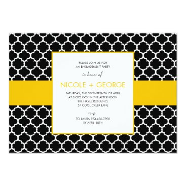 Toddler & Baby themed Chic Band General Party Invitation (Mustard)