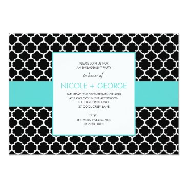 Toddler & Baby themed Chic Band General Party Invitation (Tiffany)