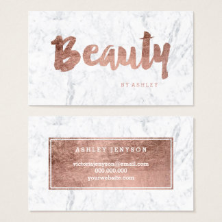 Beauty Business Cards & Templates | Zazzle