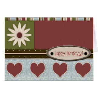 Chic Birthday Card