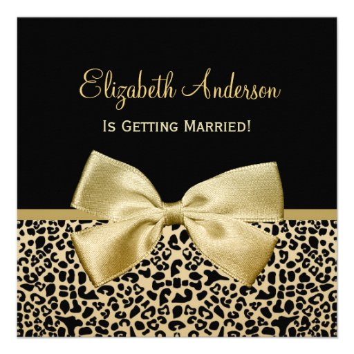 chic_black_and_gold_leopard_print_bridal_shower_invitation ...